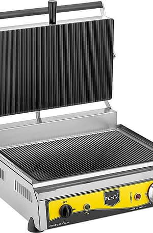 Remta 16 Dilim Cam Yüzeyli Tost Makinası Elektrikli
