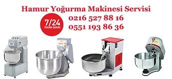 hamur yogurma makinesi servisi hizmetinizde