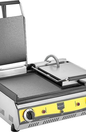 Remta 20 Dilim Çift Kapaklı Yarı Oluklu Tost Makinası Elektrikli